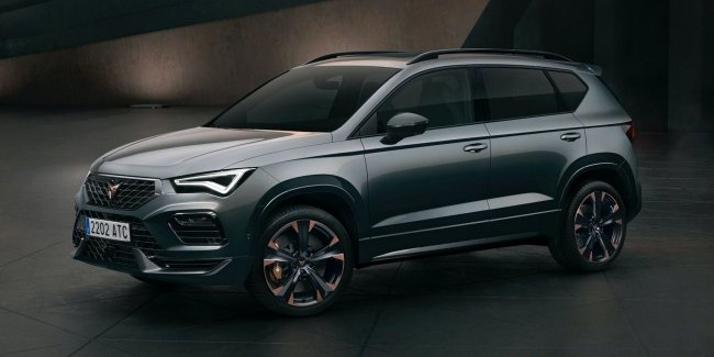 More sports: updated Cupra Ateca