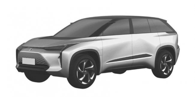 Toyota has patented in China six new electric cars