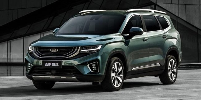 Geely HaoYue: competitor Highlander for $15.000