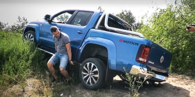 VW Amarok is available with a discount of $10.000