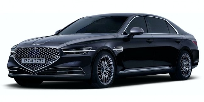 """Genesis G90 turned into """"star dust"""""""