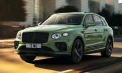 Updated Bentayga officially presented