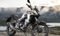 Updated Honda CB400X Adventure