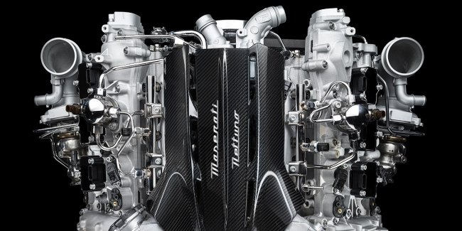 Maserati revealed all the details of his new engine Twin-Turbo V6