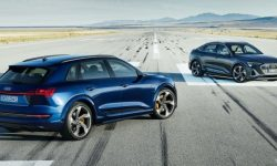 Audi e-tron S: the best crossover for drifting?