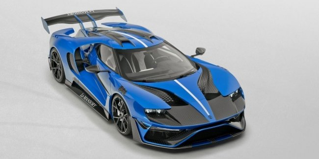 Le Mansory: jubilee line Ford GT
