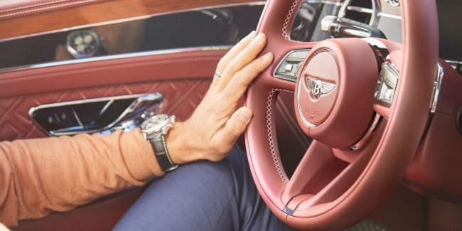 Bentley Continental GT: handlebars new