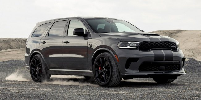 "Hell crossover: updated and very ""evil"" Durango"