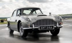Aston Martin built the first spy DB5