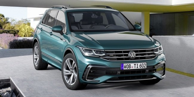 New Volkswagen Tiguan available for order