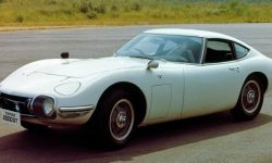 Toyota began the production of spare parts for 50-year-old sports car
