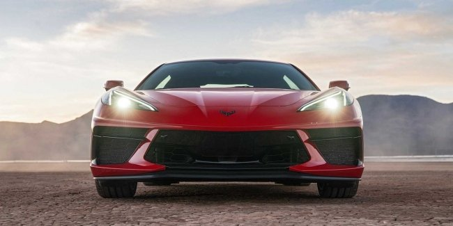 Intriguing teaser of the new Corvette