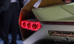 Lamborghini showed a piece of unknown novelties