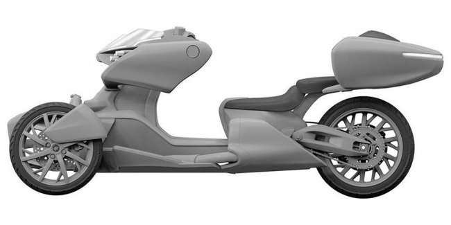Yamaha is preparing a new tricycle