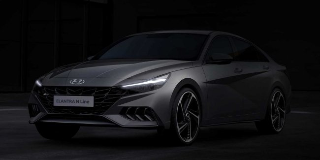 "Hyundai showed a little ""evil"" Elantra"
