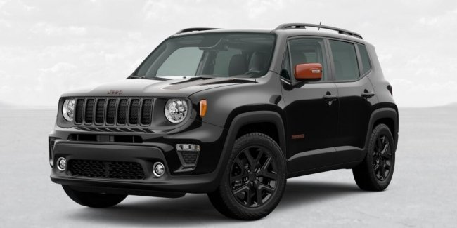 Stand Out: Jeep Renegade Orange Edition