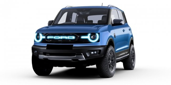 Interior Ford Bronco revealed before the premiere