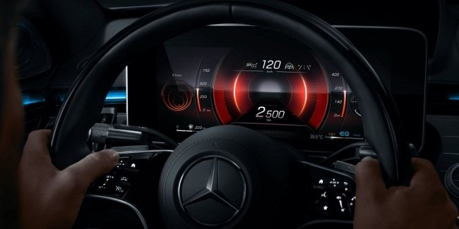 Mercedes boasted biocoenology interior S-Class