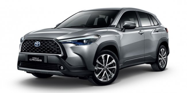 Toyota unveiled the new Corolla crossover Cross