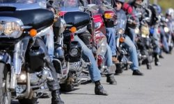 In Germany, a protest by thousands of bikers