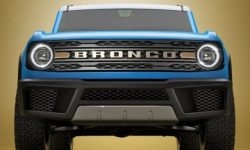 Ford showed a new Bronco suspension