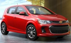 Chevrolet says goodbye to the Aveo. His place is a Bolt on EUV