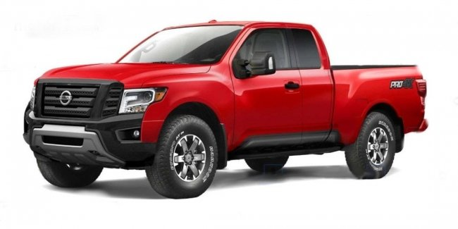 Spies spotted the new Nissan Frontier