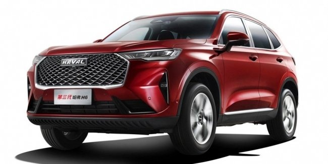 New Haval H6 now interior