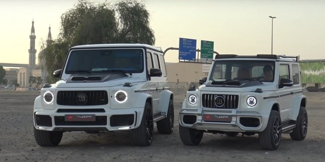 The baby G-Class Brabus (video)