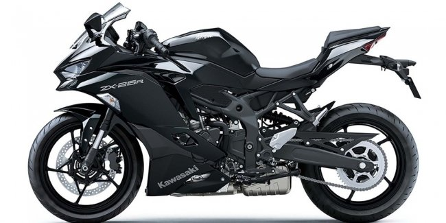 Began selling bike Kawasaki Ninja ZX-25R
