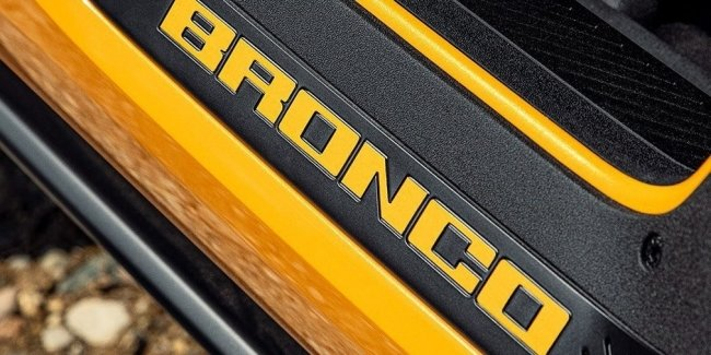 Ford Bronco: first official photos