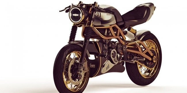 Langen Motorcycles 2-Stroke: stylish bike with a very interesting motor