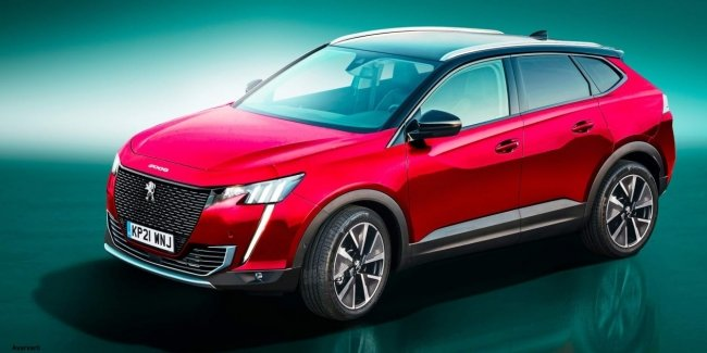 The new Peugeot 3008 will turn into a coupe
