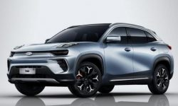 The new crossover Chery: looks like Lynk Co, and is called as Audi
