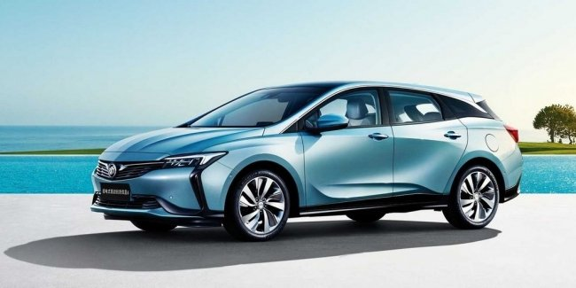 Buick Velite 6 with a flow rate of 1.4 per hundred