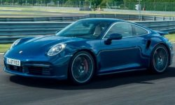 Presentation of the updated Porsche 911 Turbo