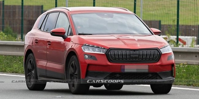 New crossover Skoda: almost without camouflage