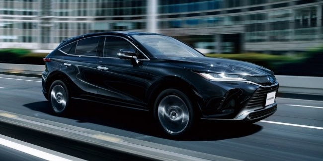Toyota Harrier: 45 thousand orders in a month!