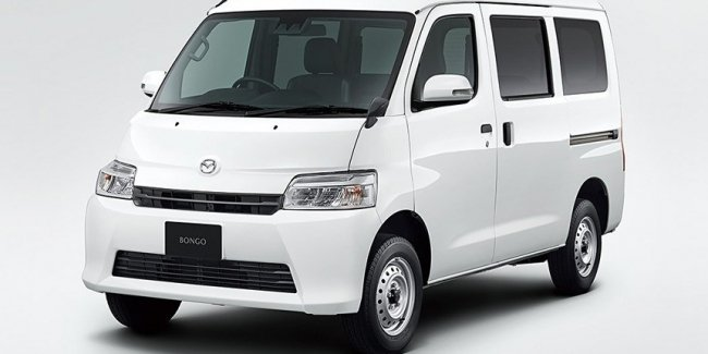 Mazda Bongo – a clone of the Toyota