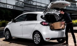 Zoe on shipping: Renault turned electrojets in the van