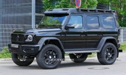 In the network appeared photo extreme Mercedes-AMG G-Class without camouflage
