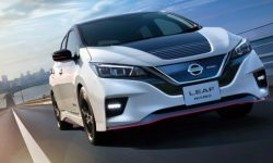 """Nissan introduced the """"charged"""" Leaf Nismo"""
