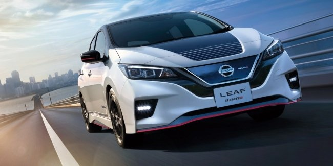 "Nissan introduced the ""charged"" Leaf Nismo"