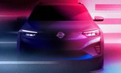 "The first ""elektrichka"" SsangYong: official teaser"