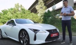 Lexus LC500. The Germans, out of the way!