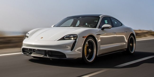 "By ""hype"": the sale of the Porsche Taycan for six months"