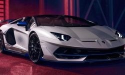 Lamborghini introduced the Aventador special