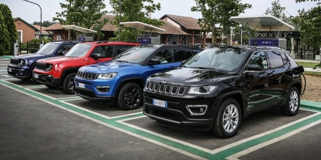 Plug-in hybrid Jeep s