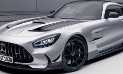 Limited edition AMG GT Black Series as a gift to clients of Mercedes