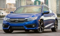 Honda Civic: new registration and farewell coupe